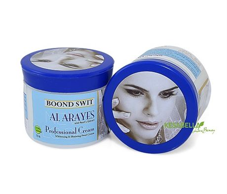 Alarayes Whitening Pearl Cream (Oily Skin)prevent the oily skin, and  ageing