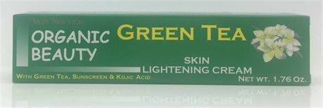 buy Organic Beauty Green Tea Skin Lightening Cream, Serum and Soap