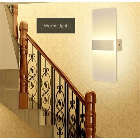 Luxurious Led Wall Light Modern for Bathroom, Bedroom, Living Room, IP22, Voltag