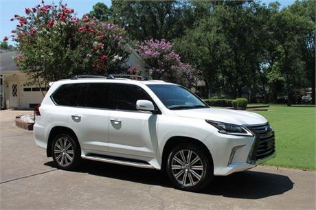Used Lexus Lx 570 2016 first #car owner